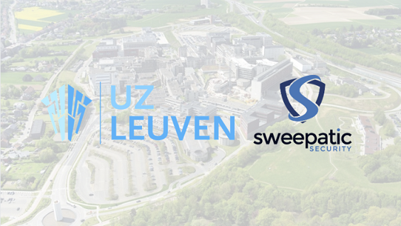 Leuven-based cybersecurity company Sweepatic provides free help to the health care sector